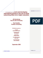 Use of Social Networking in HE UK Section