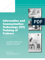 Peace Corps Information and Communication Technology (ICT) Training of Trainers - Computer and Internet use for Development - Facilitator Guide and Reference Manual