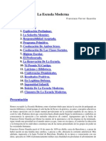 Ferrer Guardia F. - La Escuela Moderna