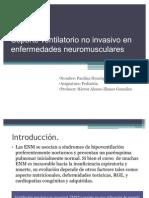Soporte Ventilatorio No Invasivo en Enfermedades Neuromusculares
