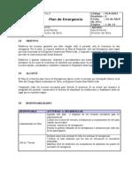 PLA-0001 Plan de emergencia/ daniel seguiel