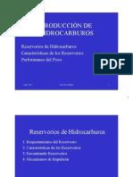 Producción de Hidrocarburos
