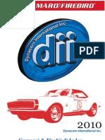 Dynacorn Catalog Camaro
