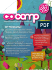 Reduced File Size CoCamp Open Day Flyer