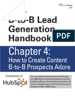 How to Create Content B-to-B Prospects Adore