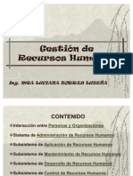 Gestión de RRHH (PRIMERA SESIÓN)
