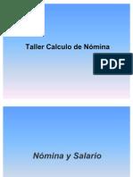 Taller Calculo de Nomina