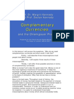 Margrit Kennedy - Complementary Currencies and the Chiemgauer Project