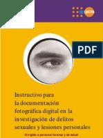 Instructivo fotografia INML