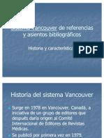 Sistema Vancouver en Referencias Bibliograficas