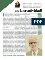 Eduard Punset - Ken Robinson - Creatividad