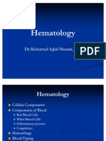 2008 My Lecture Introduction to Hematology