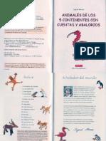Animales de Los 5 Continentes Con Cuentas y Abalorios