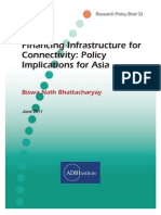 Financing Infrastructure for Connectivity
