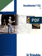 Manual de Estacion Total TRIMBLE 3600-5600 Geodimeter CU600