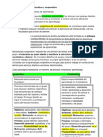 Ficha Aprendizaje Colaborativo y Cooperativo