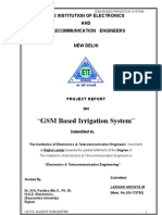 GSM Based Irrigation System
