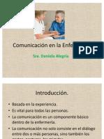 Comunicación en la Enfermería