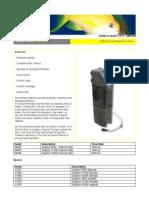Dolphin Internal Filter