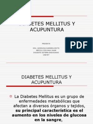 Diabetes Y Acupuntura Diabetes Mellitus Diabetes Mellitus Tipo 2
