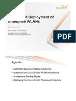 Design and Deployment of Enterprise WLANs