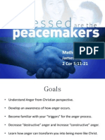 Lesson GRT ANGER Blessed Are the Peacemakers