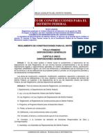 to de Construcciones Distrito Federal