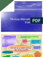 Técnicas alternativas para la evaluación
