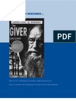 The Giver Teacher's Resource