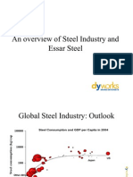 An Overview of Steel Industry and Essar Steel