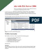Block Website With ISA Server 2006