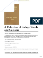 A Collection of College Word