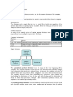 National Foods Corporation Case Analysis