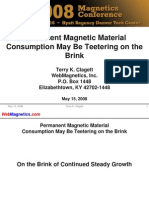Permanent Magnetic Material Consumption(2007)