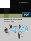 Oliver Wyman - State of Financial Services 2011