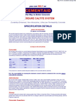 Everdure Caltite Specifications