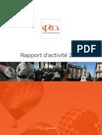 Cpca - Rapport d'activité 2010