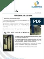 KLEEMANN NewsFax/Mail 07/11 English version