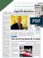 Umberto Nizzoli e le dipendenze patologiche