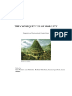 Book the Consequences of Mobility Linguistic and Sociocultural Contact Zones