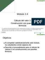Modulo Formativo 3.4 - Calculo Del Valor U. Construccion Con Puentes Termicos