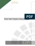 National Foods Swot Analysis Bac