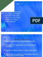 International Trade Theory