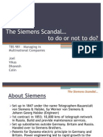 Siemens Scandal (Latest)