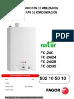 M. Uso Calderas ion NATUR - Servicio Técnico Fagor