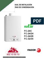 M. Instalacion Calderas ion NATUR - Servicio Técnico Fagor
