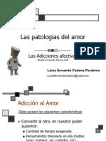 Las Patologias Del Amor