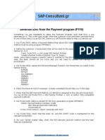 EDI-Generate iDoc From the Payment Program