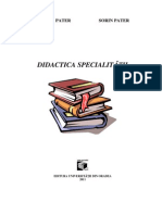 cursul Didactica specialitatii