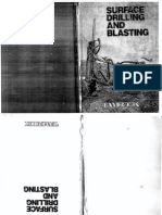 Surface Drilling and Blasting